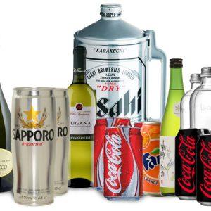 Acqua, Birra, Vini, Spumanti, Prosecchi e Bevande